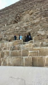 Egypt- outside pyramid