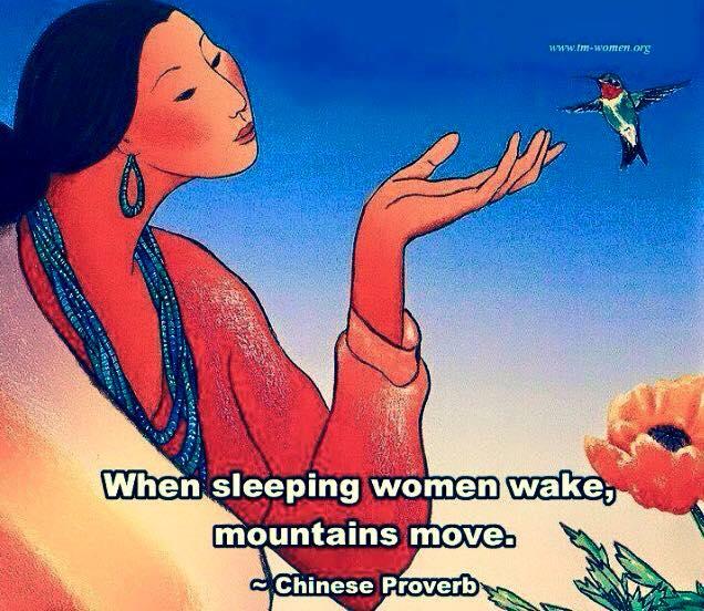 awake woman