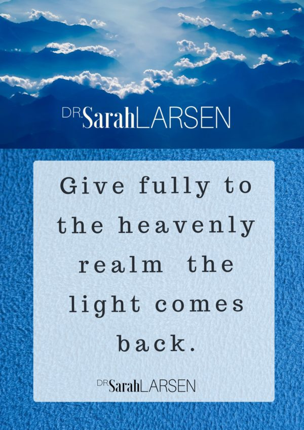 Spiritual Quotes From Dr Sarah Dr Sarah Larsen