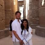Greg & Dr. Sarah - Karnak Temple
