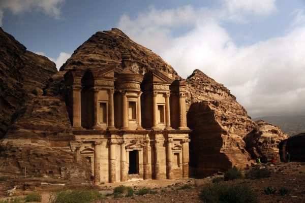 The monastery at Little Petra