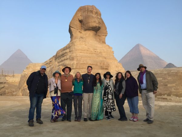 Sunrise at The Great Sphinx of Giza