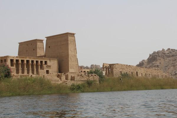 Temple Philae Isis