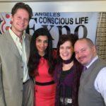 Matt Kahn and Julie Dittmar at the Conscious Life Expo