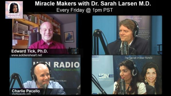 Edward Tick PhD and Charlie Pacello on Miracle Makers!