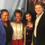 Ivory Chambeshi and Rickie Byars Beckwith in studio!