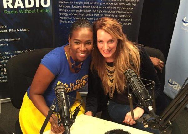 Tige Charity and Lisa Haisha in studio!