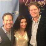 Brian Benson, Dr Sarah Larsen, and Greg Larsen in studio on Miracle Makers!